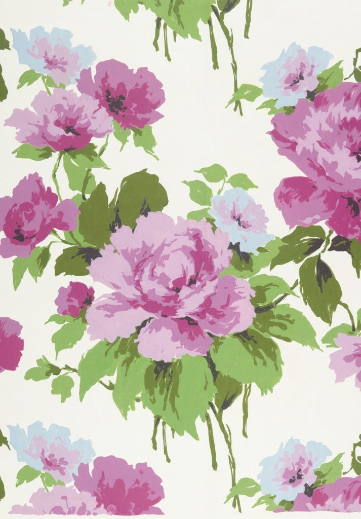 Sheppy Hand-painted paper design, 1961 Summer 2014