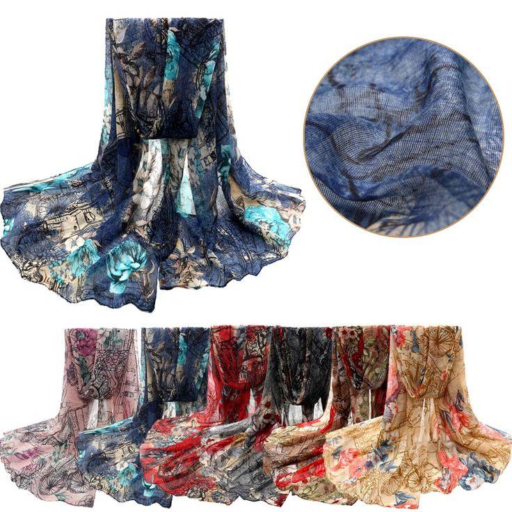 aantrekkelijk 2015 moderne vrouwen winter mode bloem voile sjaals stola sjaal van de sjaal lange nek wikkelt ot20 in aantrekkelijk 2015 moderne vrouwen winter mode bloem voile sjaals stola sjaal van de sjaal lange nek wikkelt ot20Attract van sjaals op AliExpress.com   Alibaba Groep
