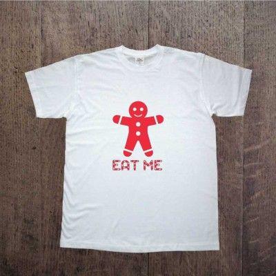 Koszulka eat me Prezent dla mężczyzny,  gingerbread, piernik www.ddshirt.pl