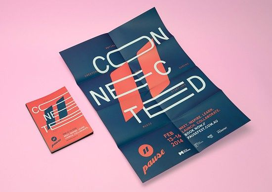 Pause Fest 2014 Branding by Pennant