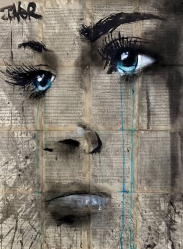"Saatchi Art Artist Loui Jover; Drawing, ""anymore"" #art"