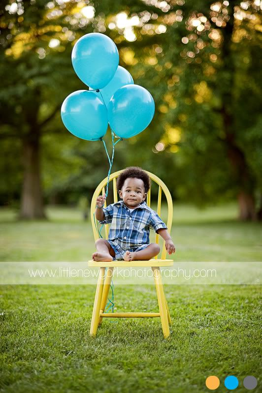 Maybe we will take the rocking chair to the park...I was going to buy some balloons too