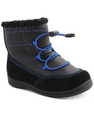 Mobility By Nina Yolie Short Ankle Boots, Toddler Boys (4.5-10.5) & Little Boys (11-3) - Black 4.5