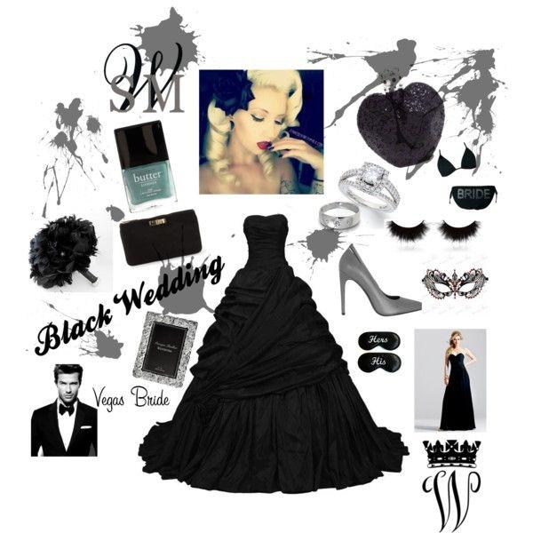 """""""Black Wedding"""" by louiseenorris on Polyvore"""