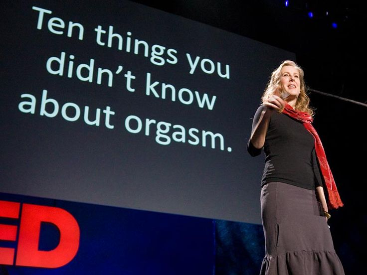 Mary Roach's scientific (and hilarious!) TED Talk: 10 Things You Didn't Know About Orgasm