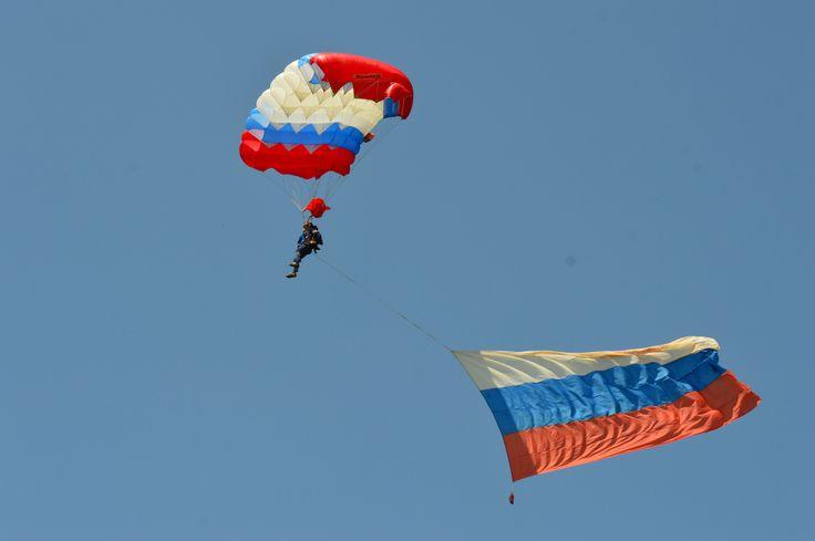 Тула. Прыжки с парашютом.