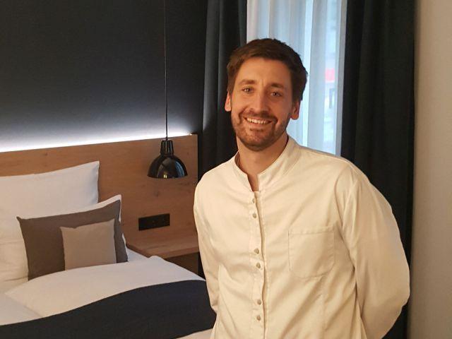 Michael Bischoff, Chef des Hotels Bischoffs in Bad Urach und dem Gourmet-Restaurant Wilder Mann