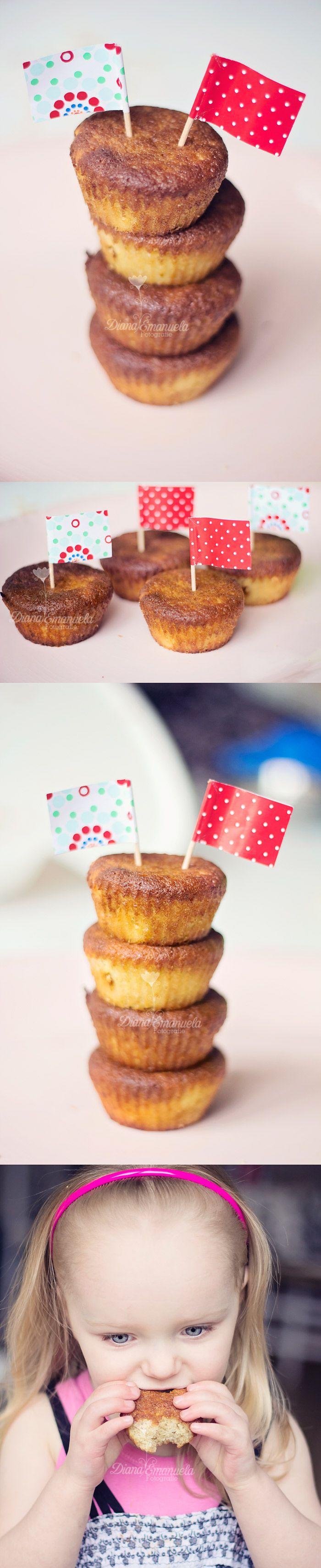 Amandelmeel citroen cupcake