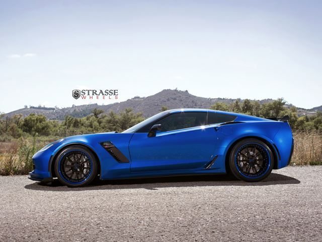 Custom Corvette Z07 Jet Fighter Looks Ready To Rumble