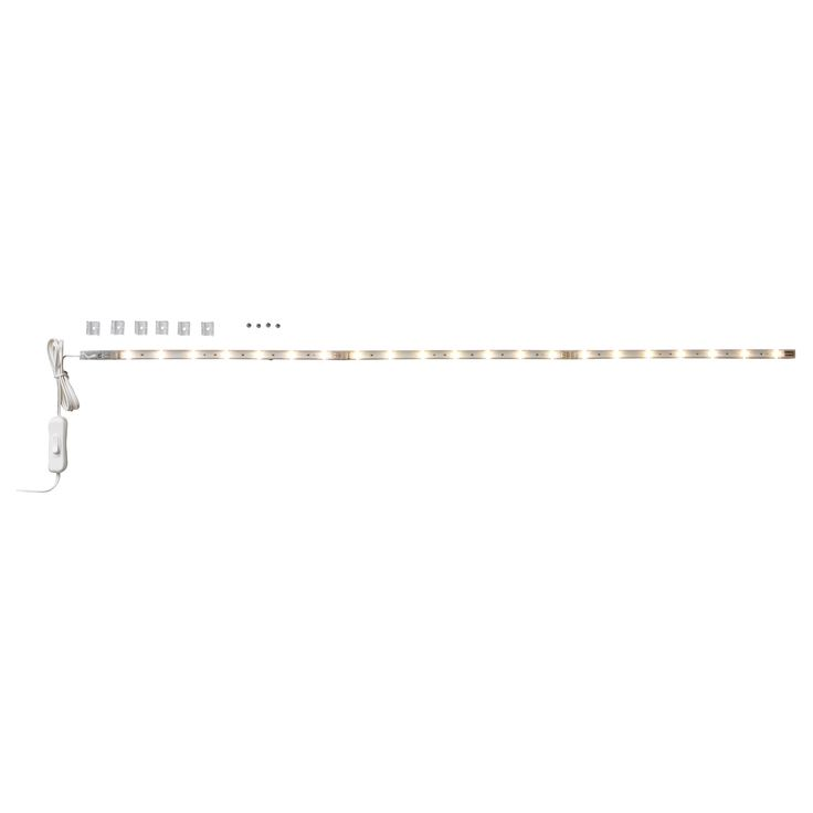 LEDBERG LED ljuslist, 3 delar - IKEA