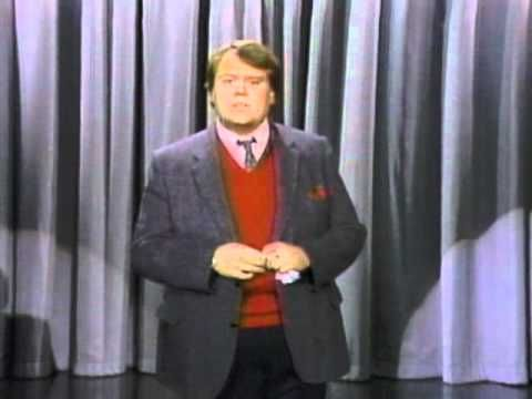 Classic comedy bits from Louie Anderson 1987. He's SO funny!