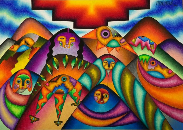Color, Earth, Andes: The Work of Bolivian Artist Roberto Mamani Mamani