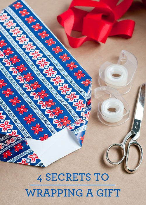 gift wrapping 101 - easy tutorialDiy Ideas, Gift Boxes, Gift Ideas, Christmas Gift Wrapping White, Secret, Gift Wraps 101, Holiday Decor, How To Wrap A Present Holiday, Wraps Ideas