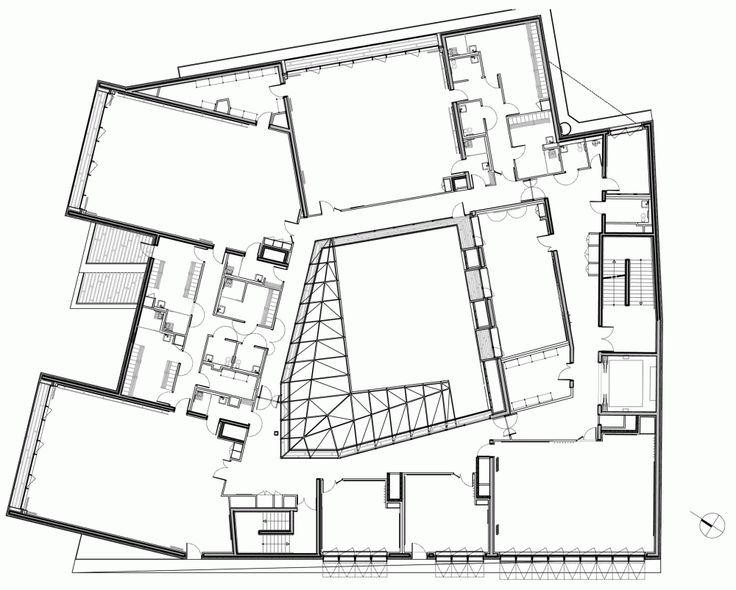 Music Conservatory in Paris' 17th Arrondissement / Basalt Architects