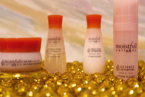 Moistfull Collagen Skin Care Sample Kit