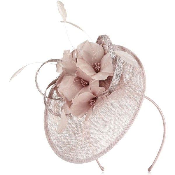 Jacques Vert Small Disc Fascinator (330 BRL) ❤ liked on Polyvore featuring accessories, hair accessories, neutral, fascinator hat, jacques vert and hair fascinators