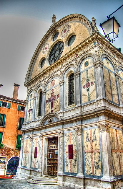Venice Italy - Santa Maria dei Miracoli Church                                                                                                                                                                                 More