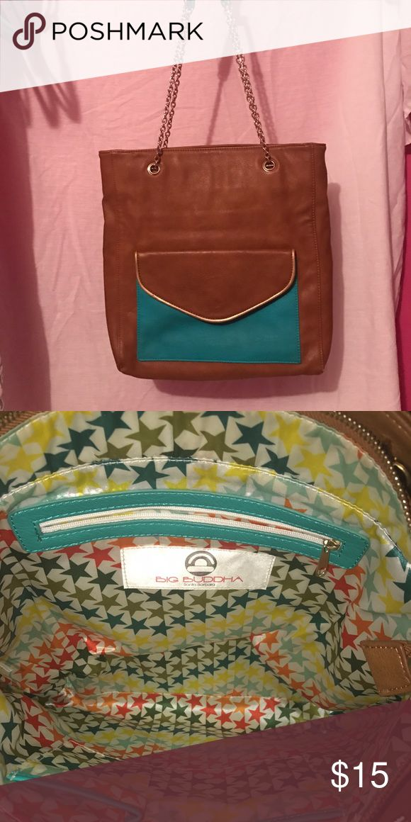 Big Buddha Purse Excellent condition. The inside and outside are both stain free. Barely carried Big Buddha Bags