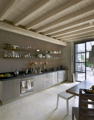 Kitchen in Italy