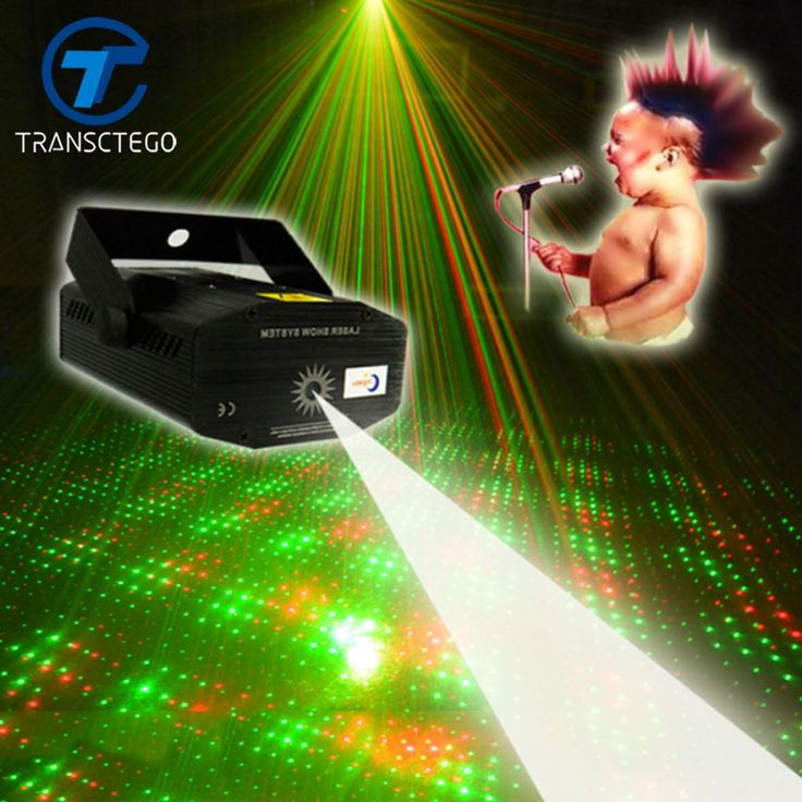 Cute Acoustic Control Stage Light For Bar Mini Laser Stage Lamp KTV Laser Lights Starry Sky Disco
