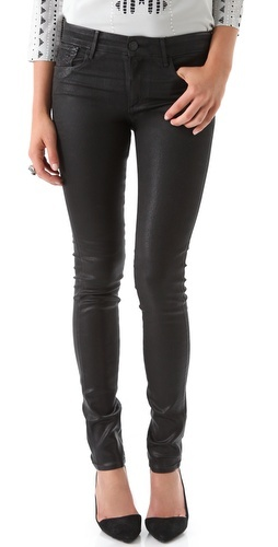 Bottoms - dark skinny jeans Habitual    Eve High Rise Coated Skinny Jeans  Style #:HABIT20043  $242.00