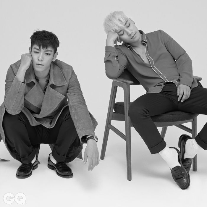TOP and Seungri - GQ Magazine August Issue '15:
