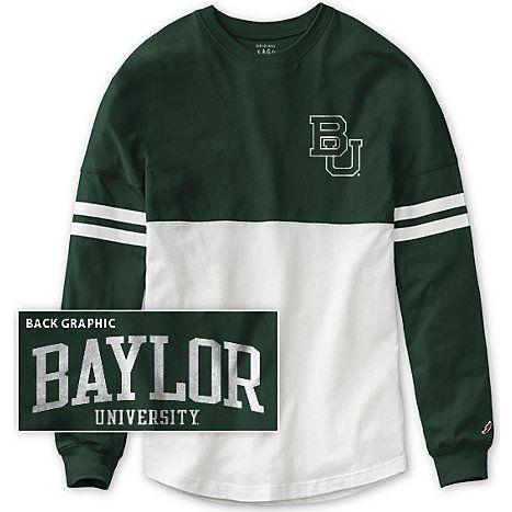 #Baylor University Women's Ra Ra Long Sleeve T-Shirt