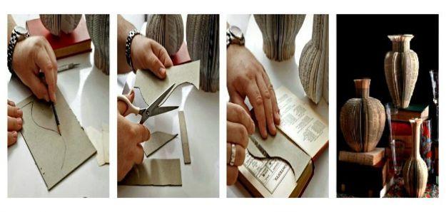 Riciclo creativo: realizzare vasi decorativi con vecchi libri