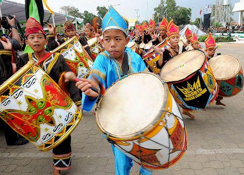 Tambur. Tambur percussion from Lampung Indonesia.This originally comes from Minangkabau west sumatra.Indonesia