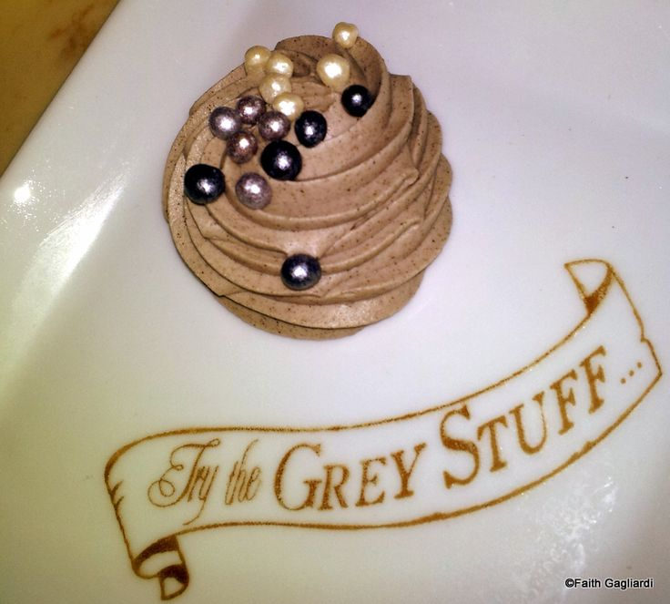Try The Grey Stuff It's Delicious! From Be Our Guest Restaurant in Disney's Magic Kingdom!