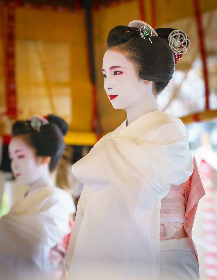 舞妓 maiko ふく苗 fukunae 宮川町 祇園祭 舞踊奉納 KYOTO JAPAN