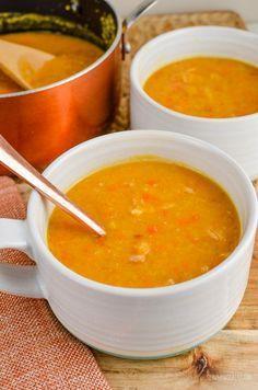 Slimming Eats - Slimming World Recipes Syn Free Split Pea and Bacon Soup | Slimming Eats - Slimming World Recipes