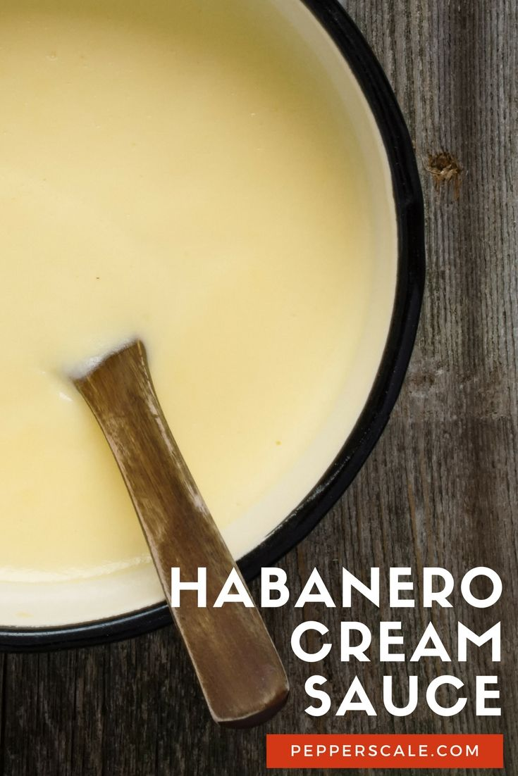 Habanero cream sauce can bring life to all sorts of dishes, from drizzling it on top of enchiladas to flavoring a hearty soup. via @pepperscale