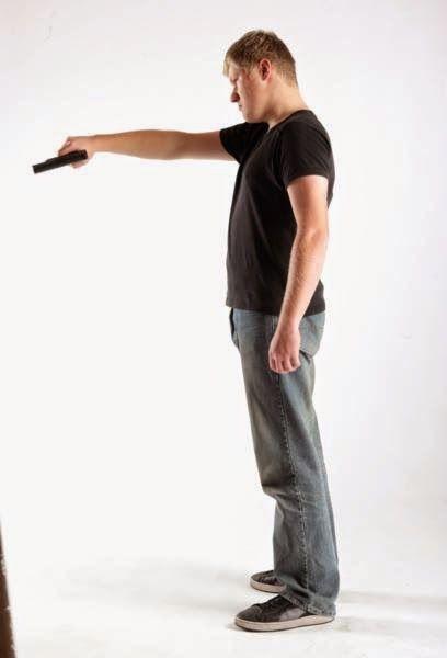 3D human referenses: Roughboy Threaten Pistol