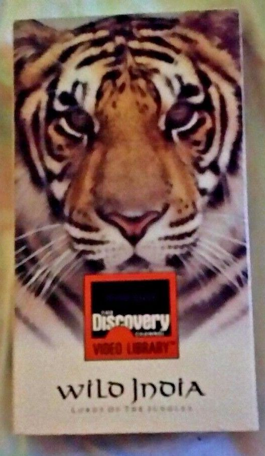 Wild India - Lords of the Jungles - Discovery Channel Documentary - VHS