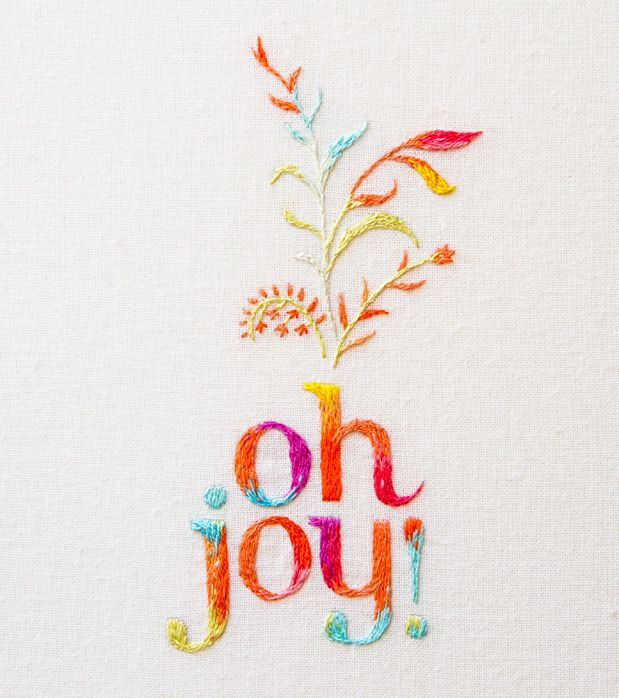 MaricorMaricar ohjoy #embroidery - beautifully stitched and well said too.
