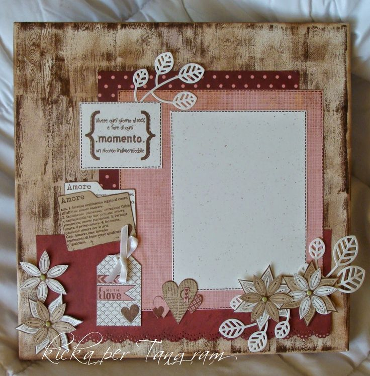 altered canvas with florileges design tampons