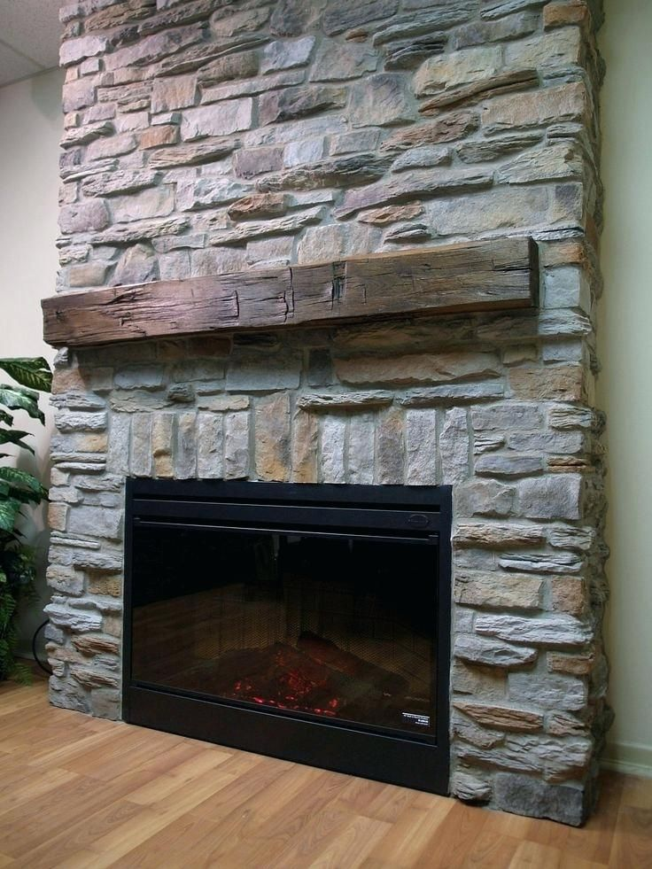 Pin By Jenny Wolfe On Living Area In 2019 Stone Veneer Fireplace