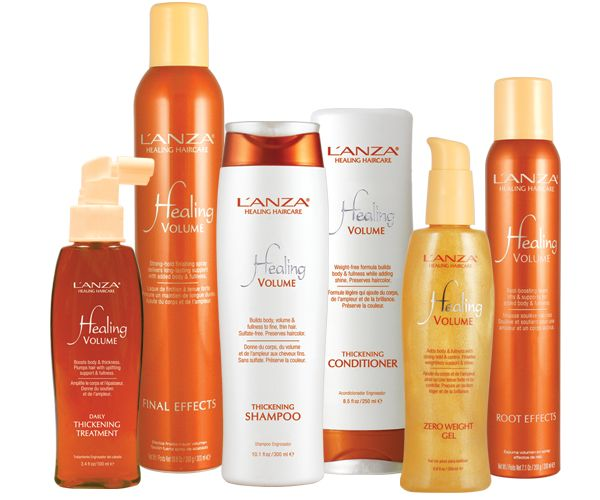 L'anza provides an amazing volume line for clients with fine hair! We carry this amazing line at our salon for retail! Come see us today to inquire about these products!