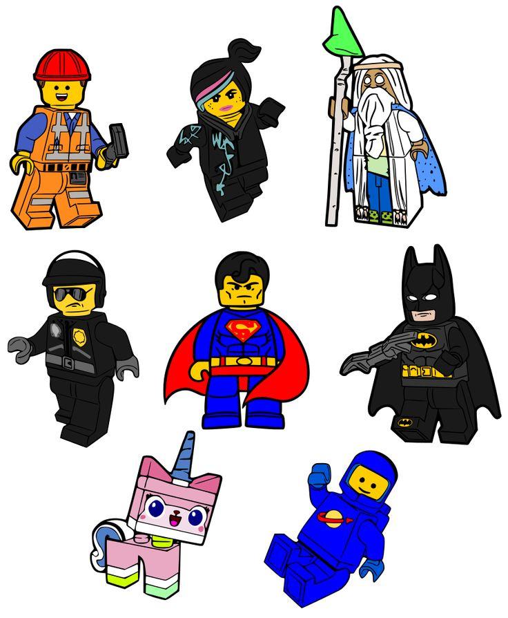 Krafty Nook The Lego Movie SVG Files SCALsvg