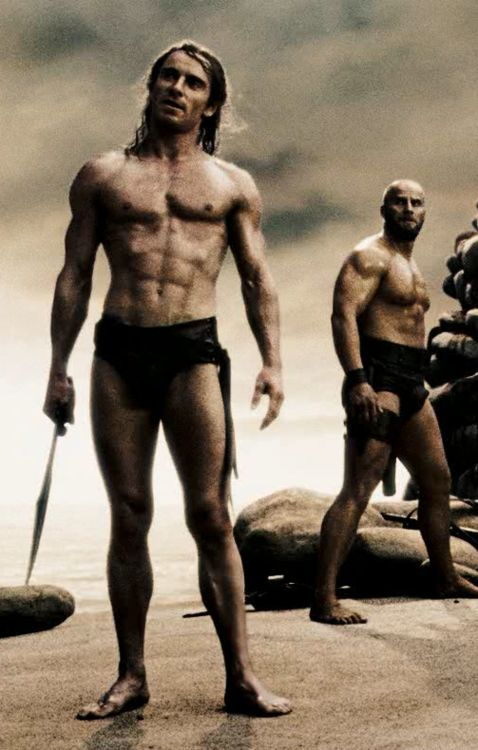 300 (2006). King Leonidas and a force of 300 men fight the Persians at Thermopylae in 480 B.C. Fassbender as Stelios.