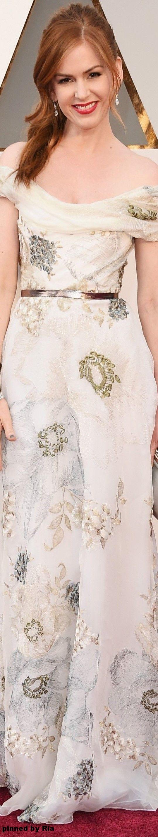 Isla Fisher l The 2016 Oscars l Ria