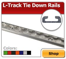 Airline-Style L-Track & L-Track Tie Down Rails image