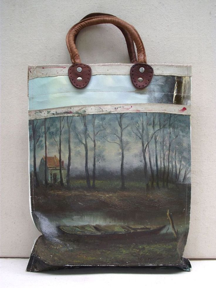 17 Best Ideas About Painted Canvas Bags On Pinterest