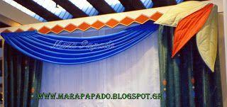 Κουρτίνες παιδικού δωματίου. Θα μας βρείτε: www.marapapado.blogspot.gr