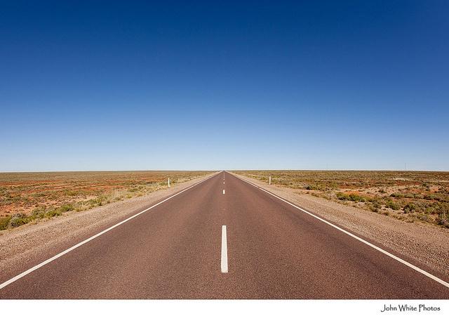 Stuart Highway. Woomera. Australia. John White photos