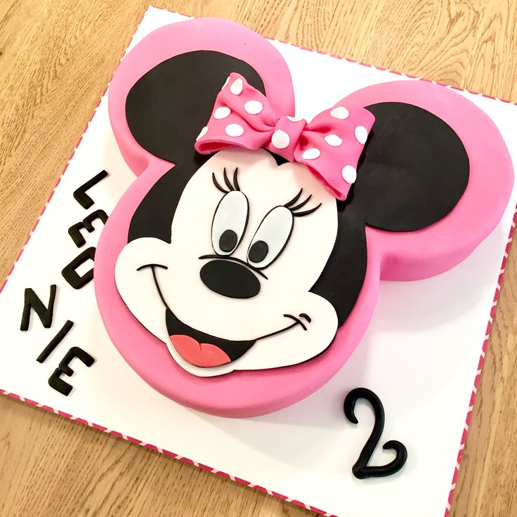Mickey Mouse cake Girl