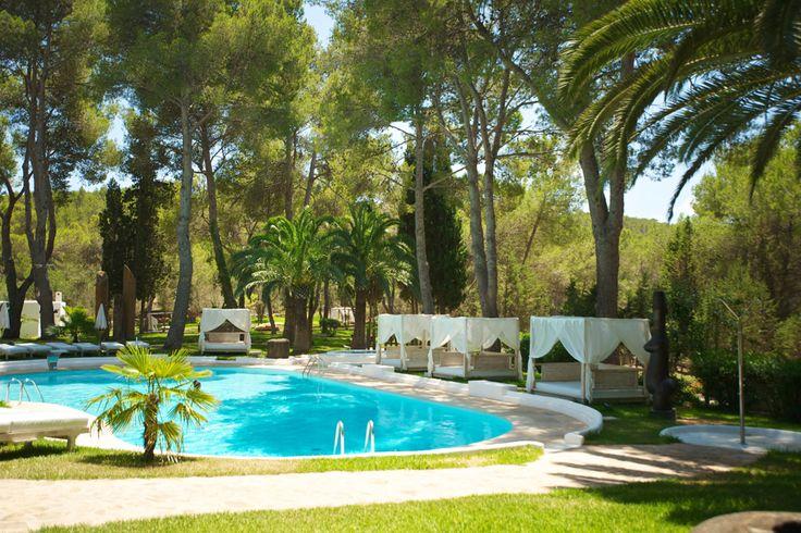 Heerlijk loungen kan bij Hotel Rural Sa Talaia als de beste