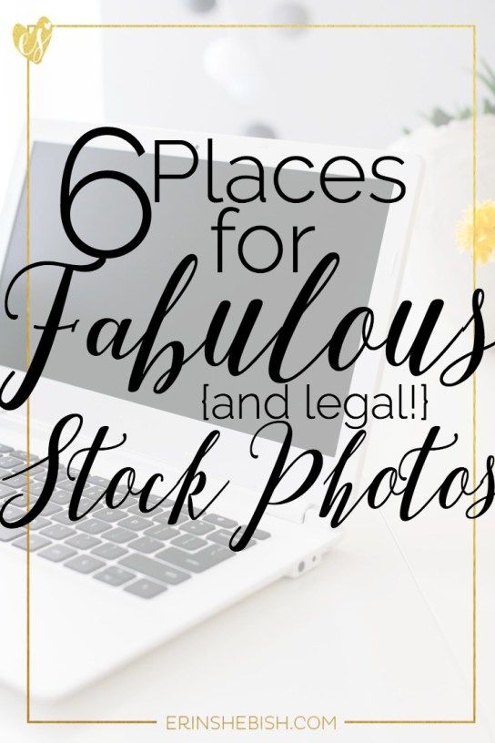 6 Places for Fabulous {and legal} Stock Photos - Having beautiful photos can be done legally and totally free!