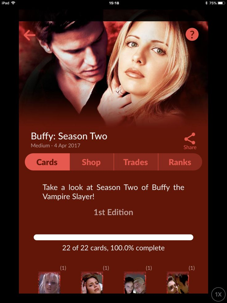 Quidd Digital Trading Card Set, Buffy the vampire slayer channel, Buffy, spike, tv, 90's tv, collectibles , shop for more , iOS or Android